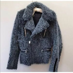 Gucci Shearling Moto Jacket
